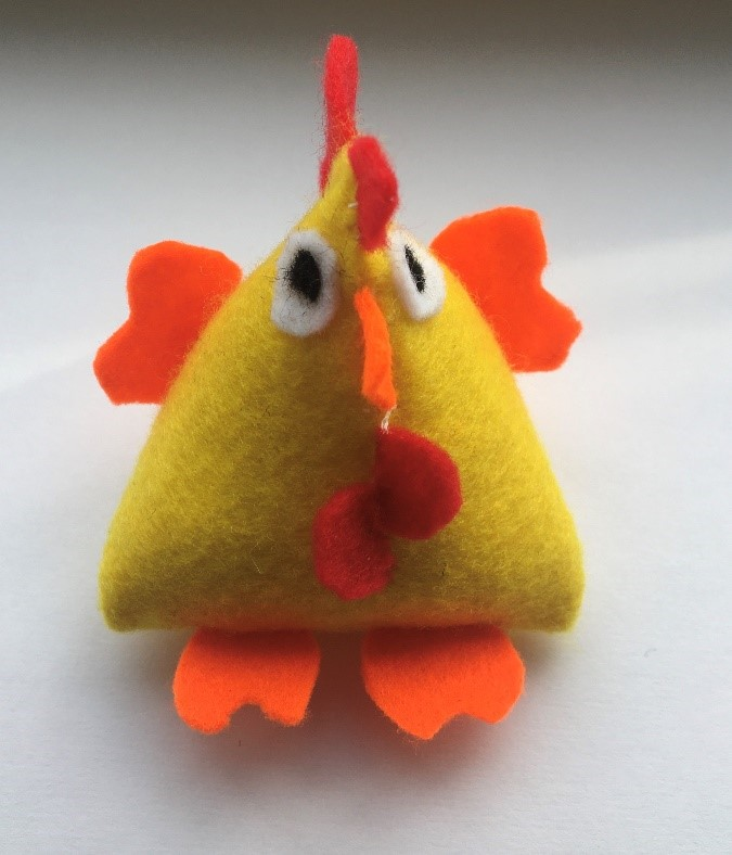 Day 1 – An Easter Chick Decoration